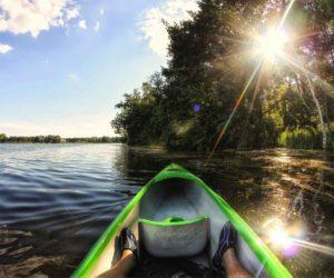 Kayaking in Beaufort South Carolina